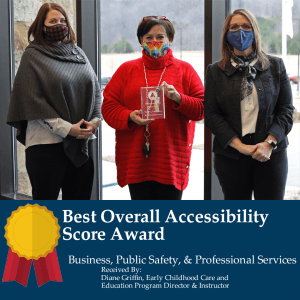 Best Overall Accessibility Score Award: Business, Public Safety & Professional Services