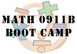 MATH 0911B Boot Camp
